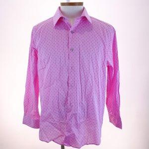 Alfani Men's Regular Fit Long Sleeve Dress Shirt